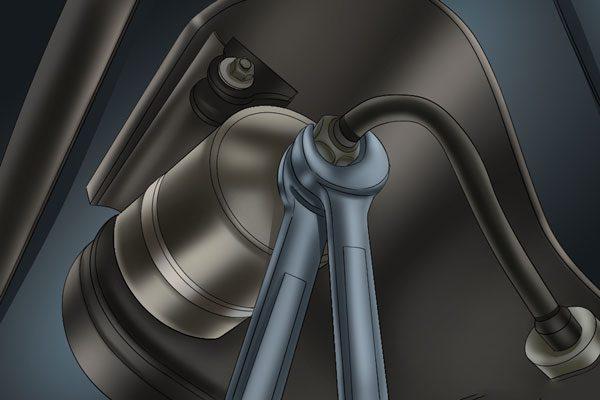 проверка запушен горивен филтър